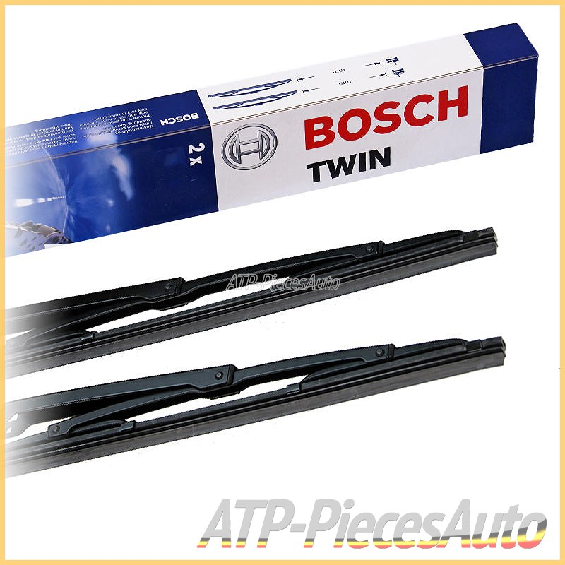 1 balai avant Bosch 480U  Balai dessuie-glace conventionnel Twin