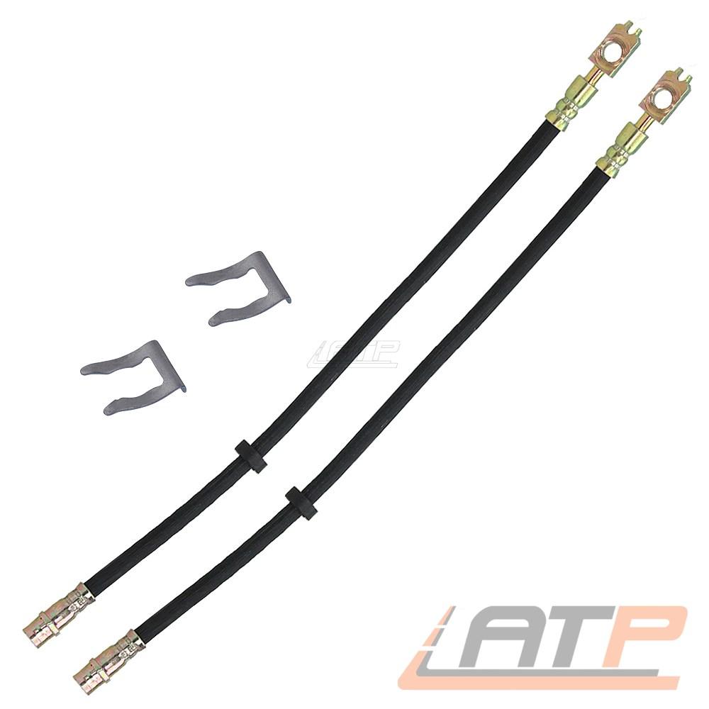 560 mm 2x Bremsschlauch Bremsleitung Vorne für AUDI S3 8L