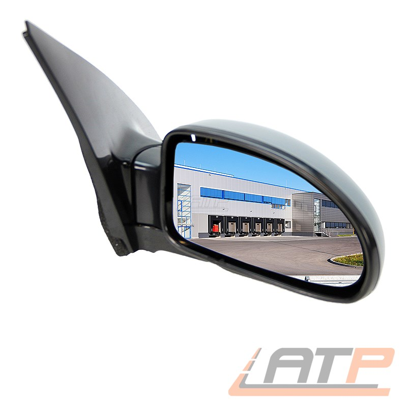 Außenspiegel rechts Peugeot 206 Bj 98-03 elektrisch beheizbar grundiert 1095102
