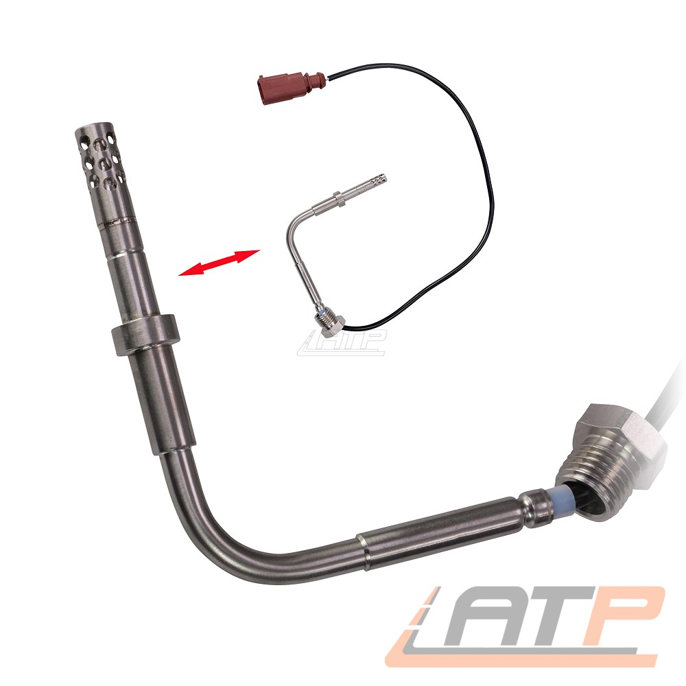 Abgastemperatur Sensor für VW Caddy 3 Passat 3C Touran 1.9 2.0 TDI