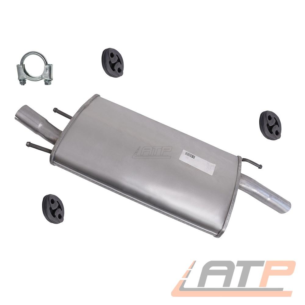 Auspuff Endschalldämpfer Endtopf FORD Fiesta IV 1.25i,1.3i 95-02  Mazda 121 III