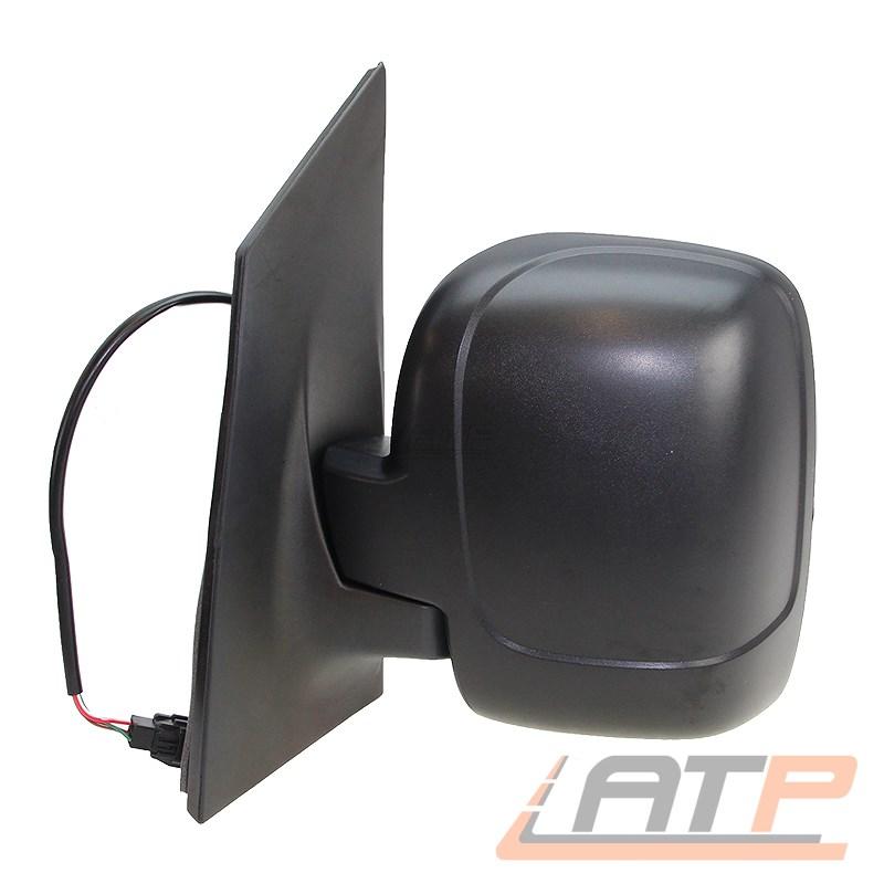 Schwarz für FIAT SCUDO 270 270 272 PEUGEOT Außenspiegel Links Geteilt Man