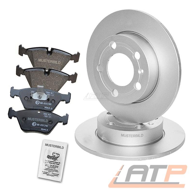 4x Bremsbeläge Bremsklötze Bremsbelagsatz Hinten FORD Focus Fiesta 5 6
