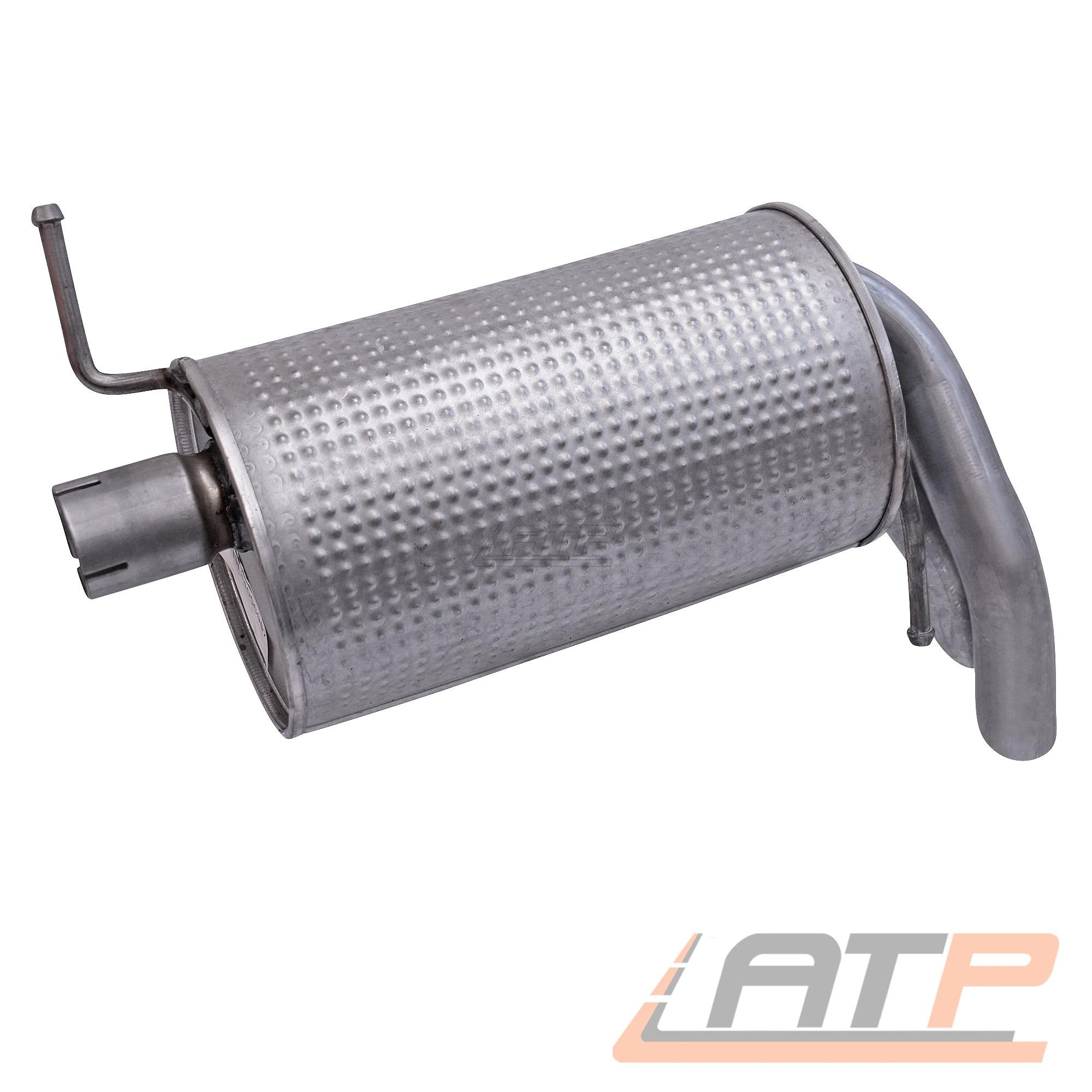 Endschalldämpfer silenciadores para Ford Galaxy WGR 1.9 tdi año de fabricación 95-06
