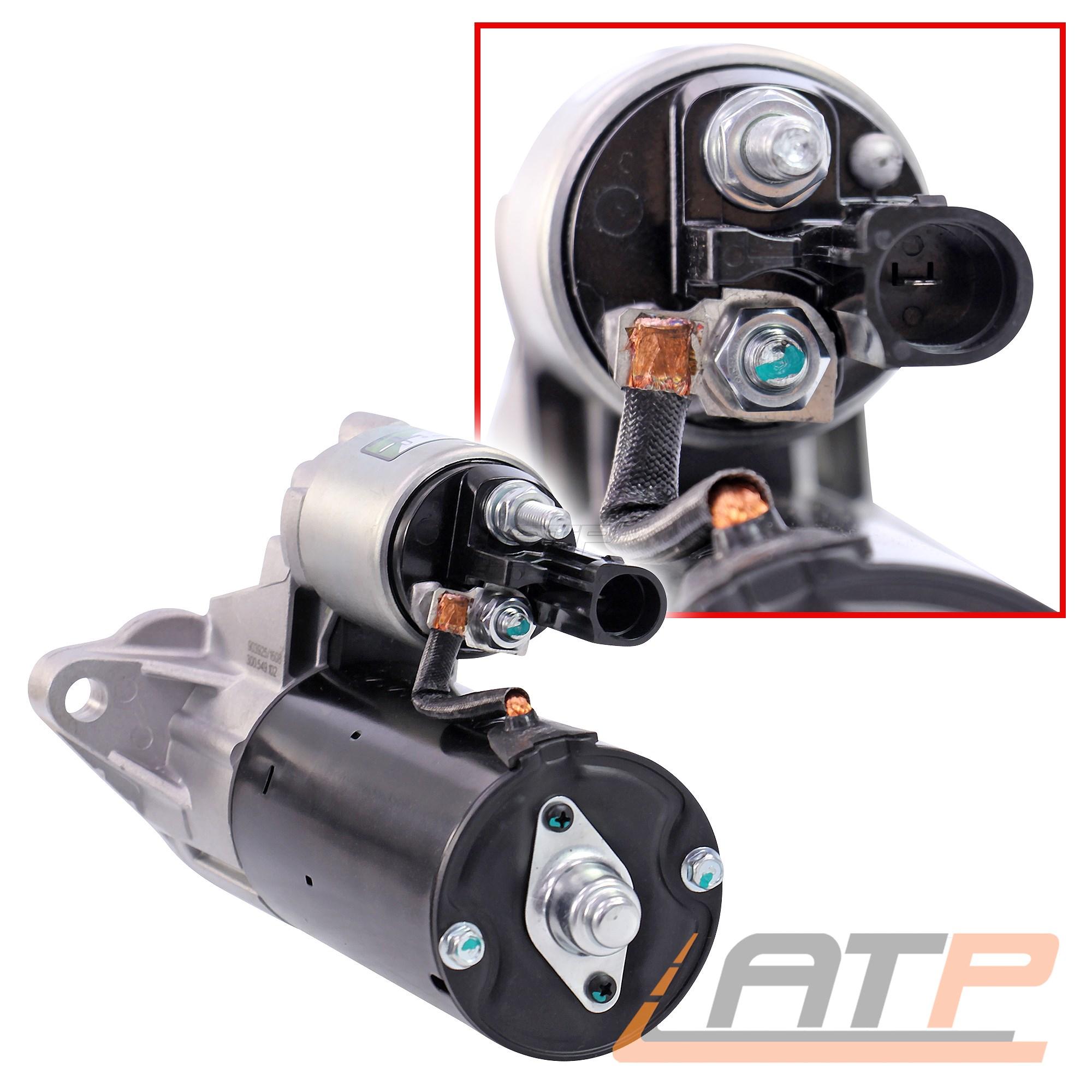 STARTER AVVIATORE 1,7 KW VW Caddy 3 1.9 TDI BJ 05-08 EOS 1f 2.0 TDI TFSI 3.2