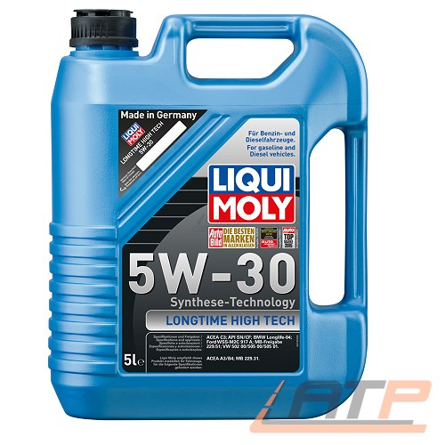 5 l liter liqui moly longtime high tech 5w 30 motor l. Black Bedroom Furniture Sets. Home Design Ideas