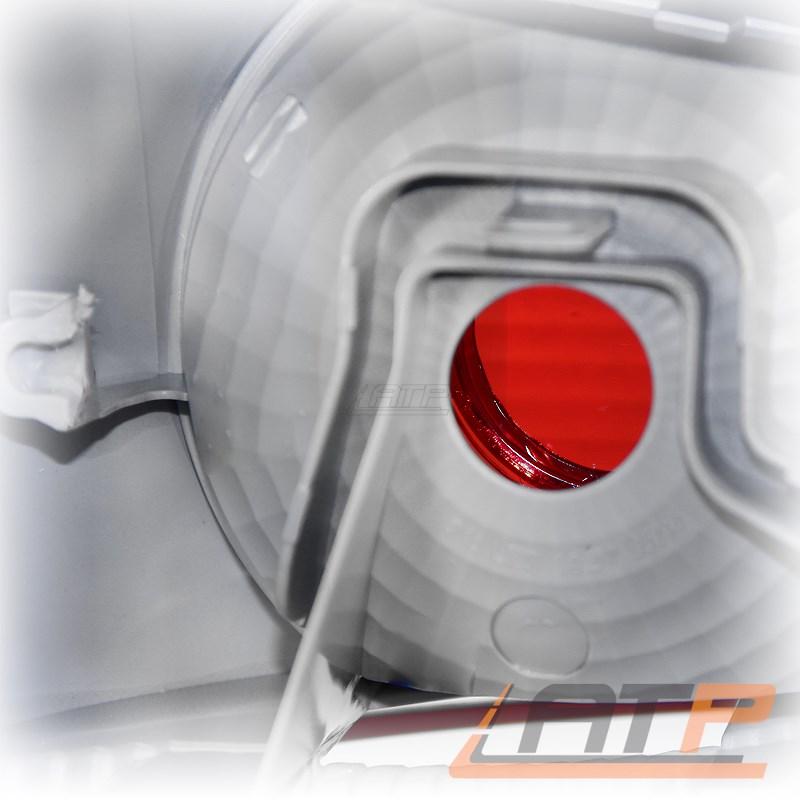 2x HECKLEUCHTE HECKLICHT GLASKLAR DUNKEL LINKS RECHTS VW TOURAN 1T