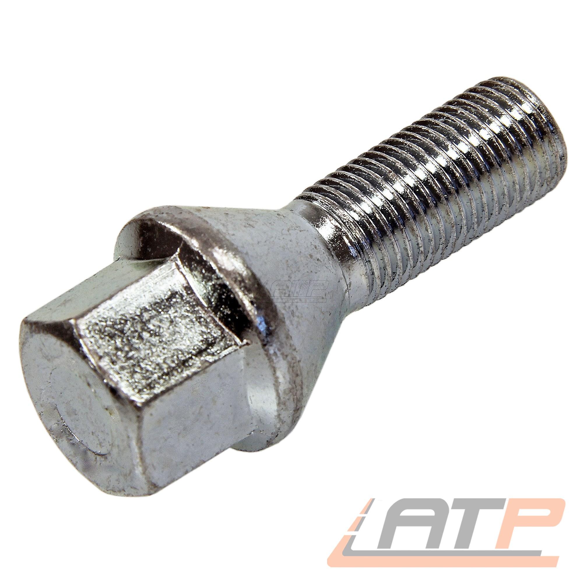 Perno de rueda 16x m12 x 1,5 x 40 mm kegelbund 60 ° sw17 tornillos kegelschraube