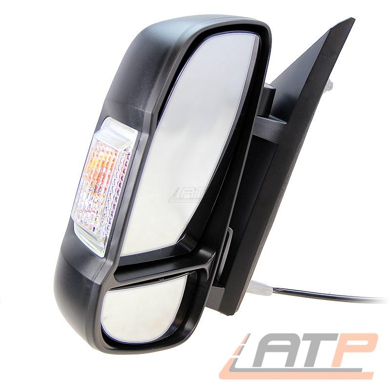 Außenspiegel Fiat Ducato Typ 250 Fahrerseite medium Spiegelarm manuell 735480932