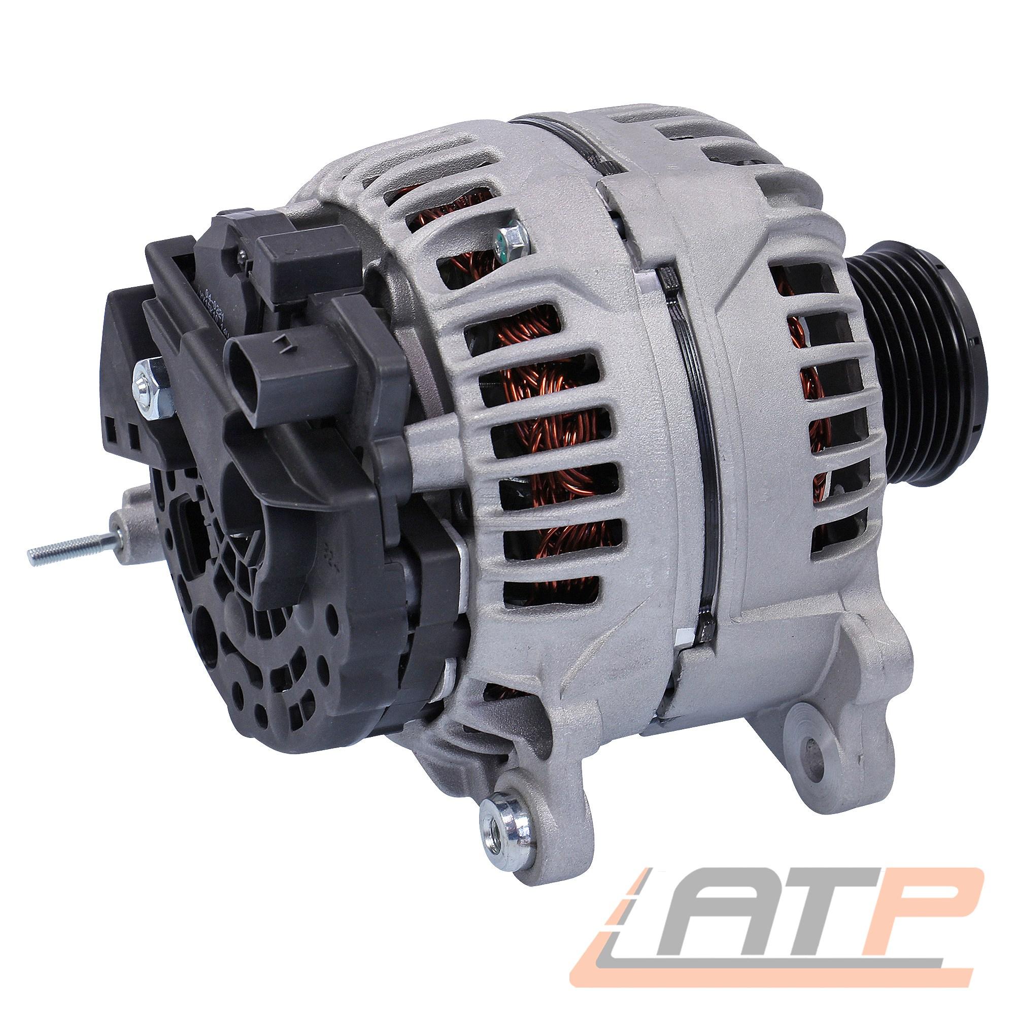 LICHTMASCHINE GENERATOR 120-A VW POLO 6N 6N2 9N 9A 1.4 TDI