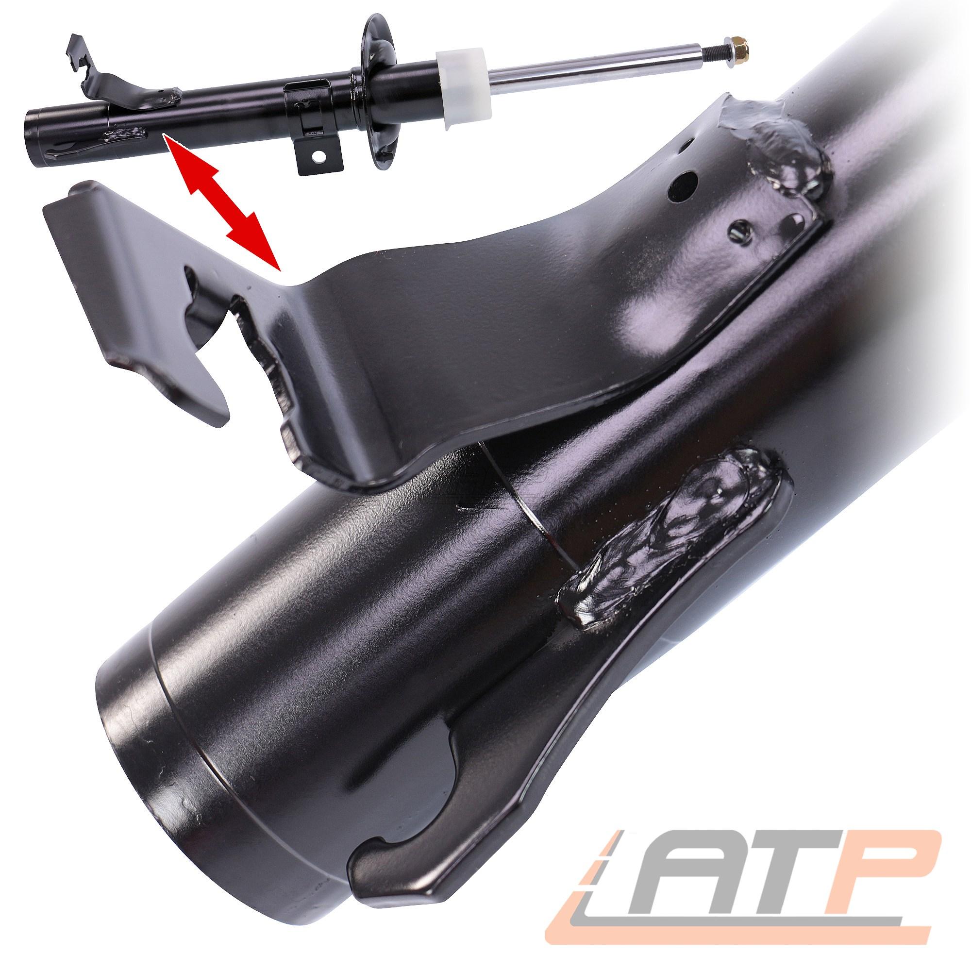 2x stossdämpfer Ammortizzatore Sospensioni Anteriore Asse Anteriore Sinistro gas a pressione a gas 31971426