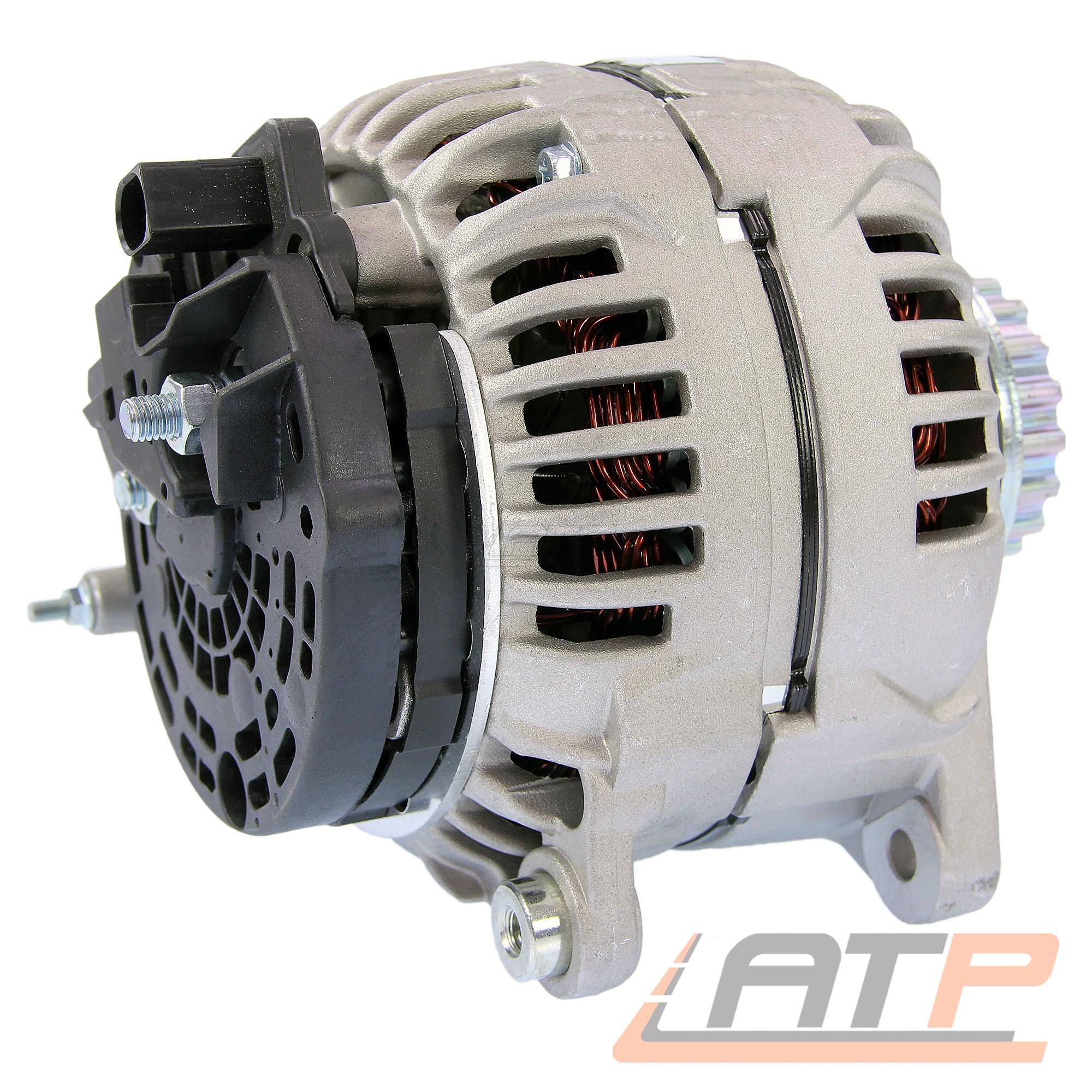 La dínamo generador 180-a VW Touareg 7l 2.5 r5 TDI