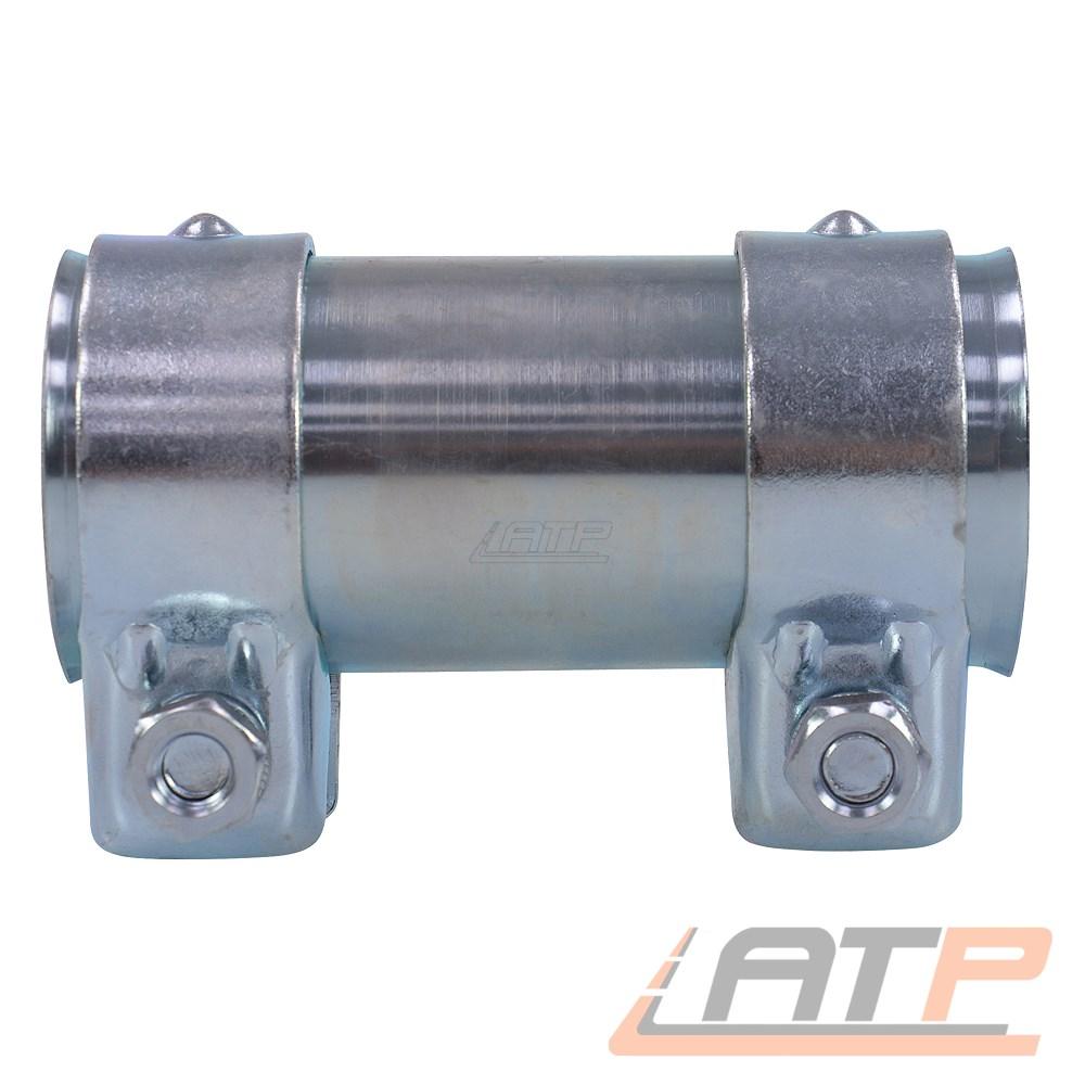 Auspuffverbinder Rohrschelle Doppelschelle Ø 65 mm x 80 mm