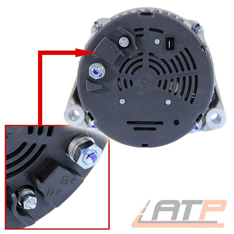 La dínamo generador 115a Mercedes G-Klasse w463/_320 500 55 AMG sl r129 280 3