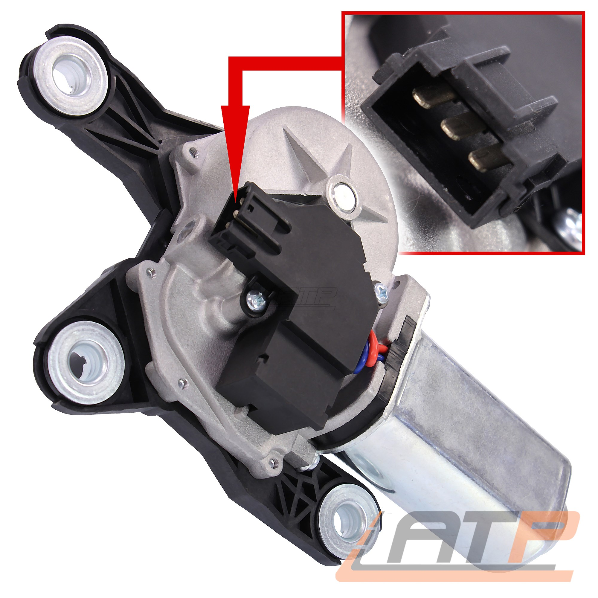 Superior MX Red Gear Shift Lever Yamaha WR 250F  2015-2018 GLH2RD