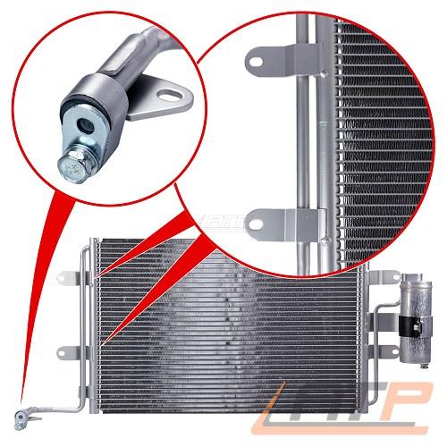 kondensator klimaanlage 540x360 trockner audi a3 8l ab bj. Black Bedroom Furniture Sets. Home Design Ideas