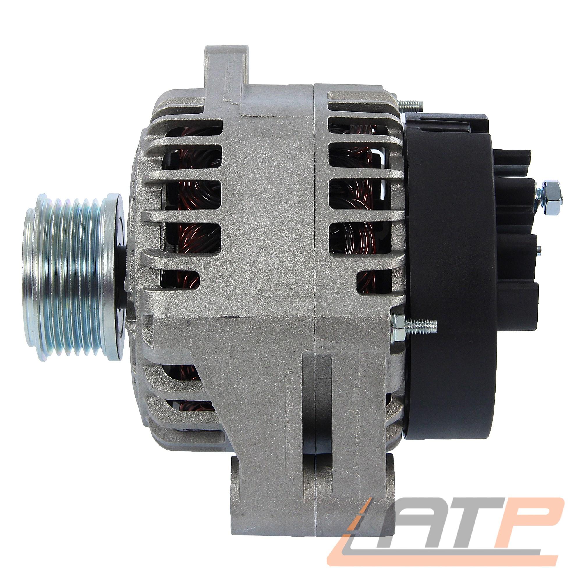 LICHTMASCHINE GENERATOR 140-A FIAT GRANDE PUNTO 199 1.6 D Multijet BJ AB 08