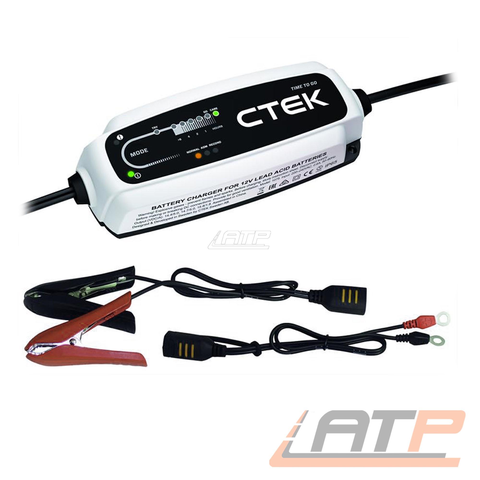 ctek ct5 time to go 12v 5a batterieladeger t ladeger t. Black Bedroom Furniture Sets. Home Design Ideas