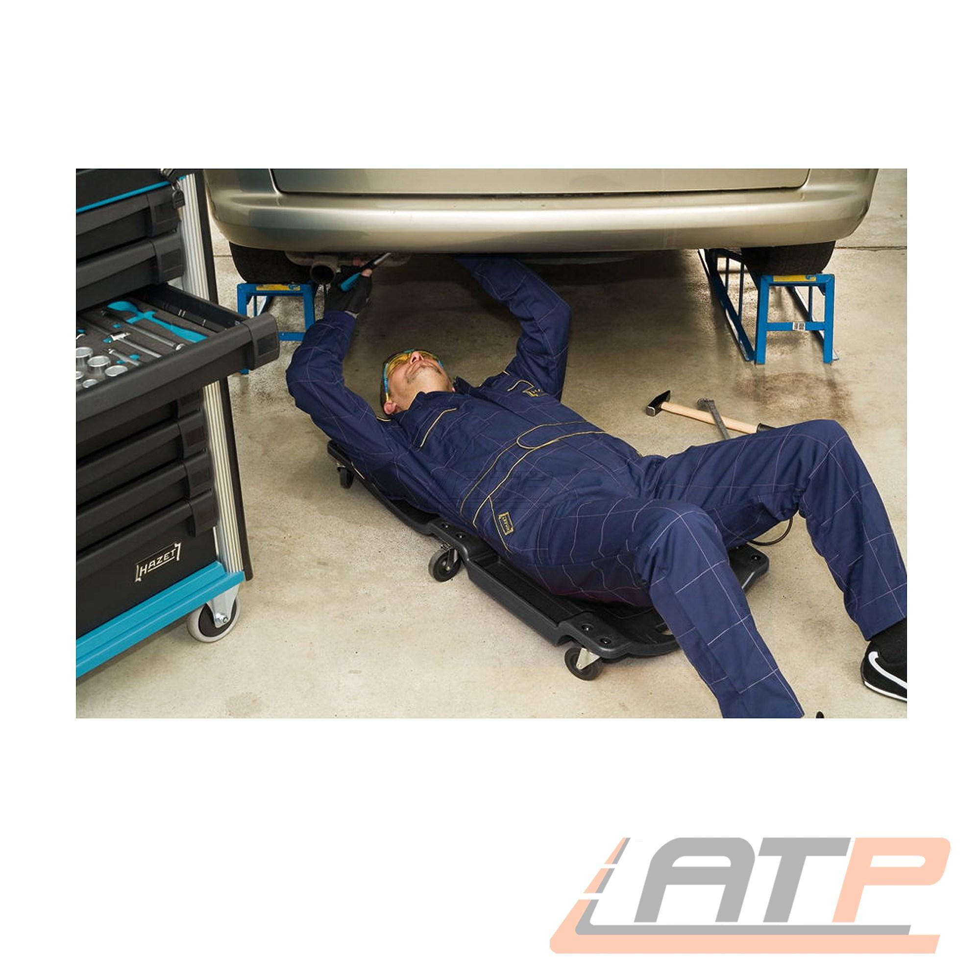 Hazet  Rollbrett Werkstattrollbrett Arbeitsliege Rollliege bis 130kg 195-2