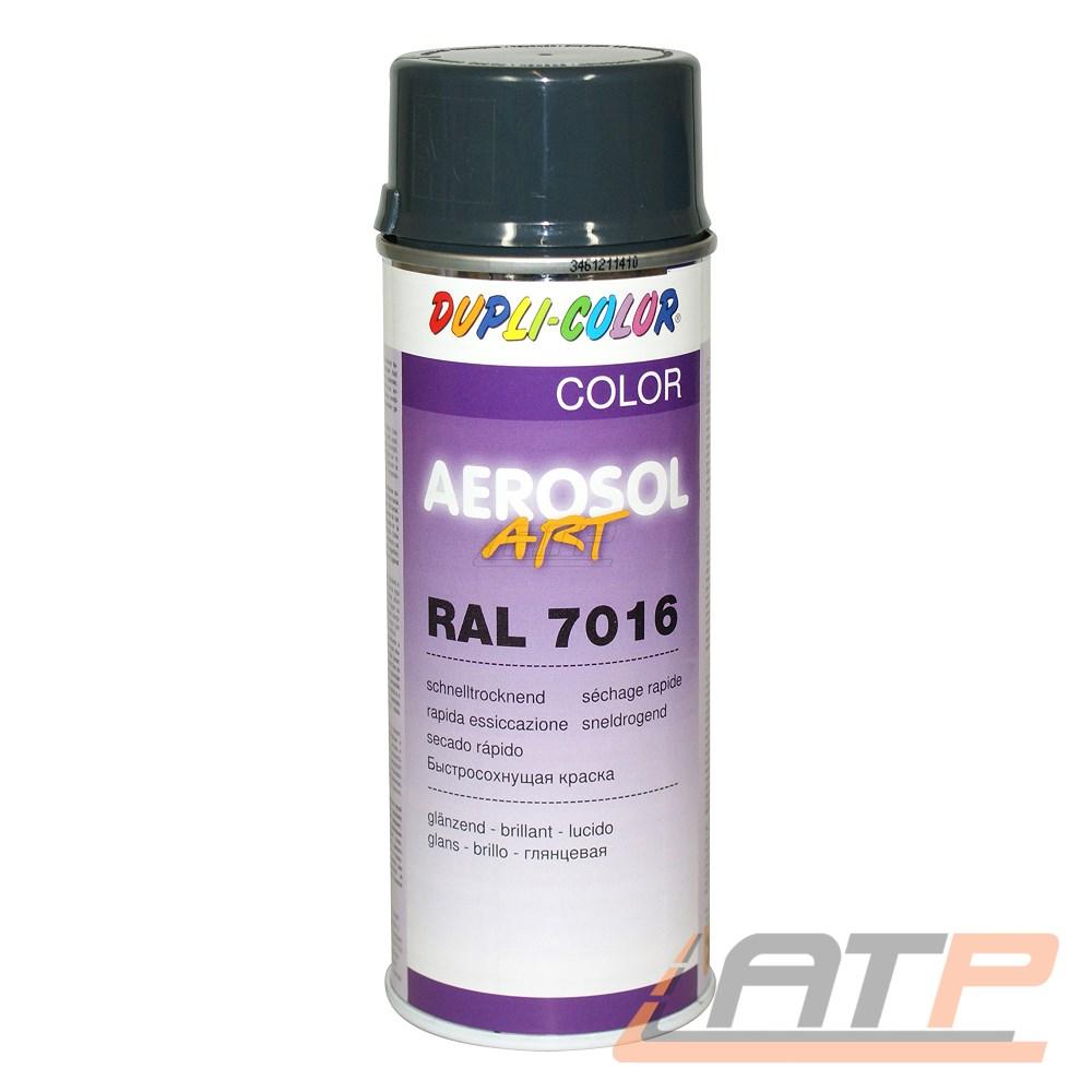 Lack Ral 7016 Anthrazitgrau : 12x 400ml dupli color aerosol art ral 7016 anthrazitgrau glanz spr h lack spray ebay ~ A.2002-acura-tl-radio.info Haus und Dekorationen