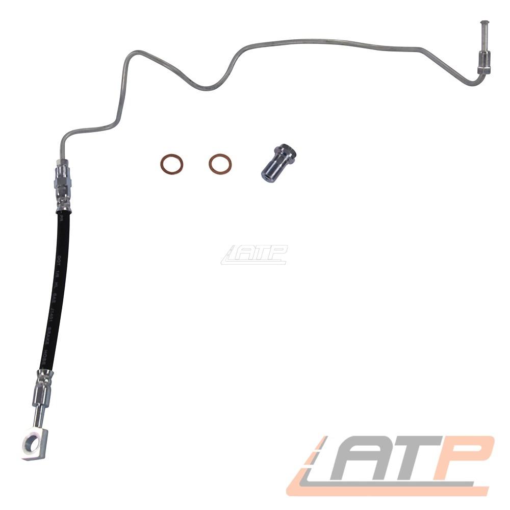2x Bremsschlauch Bremsleitung Vorne für AUDI TT 8N 1.8T 560 mm