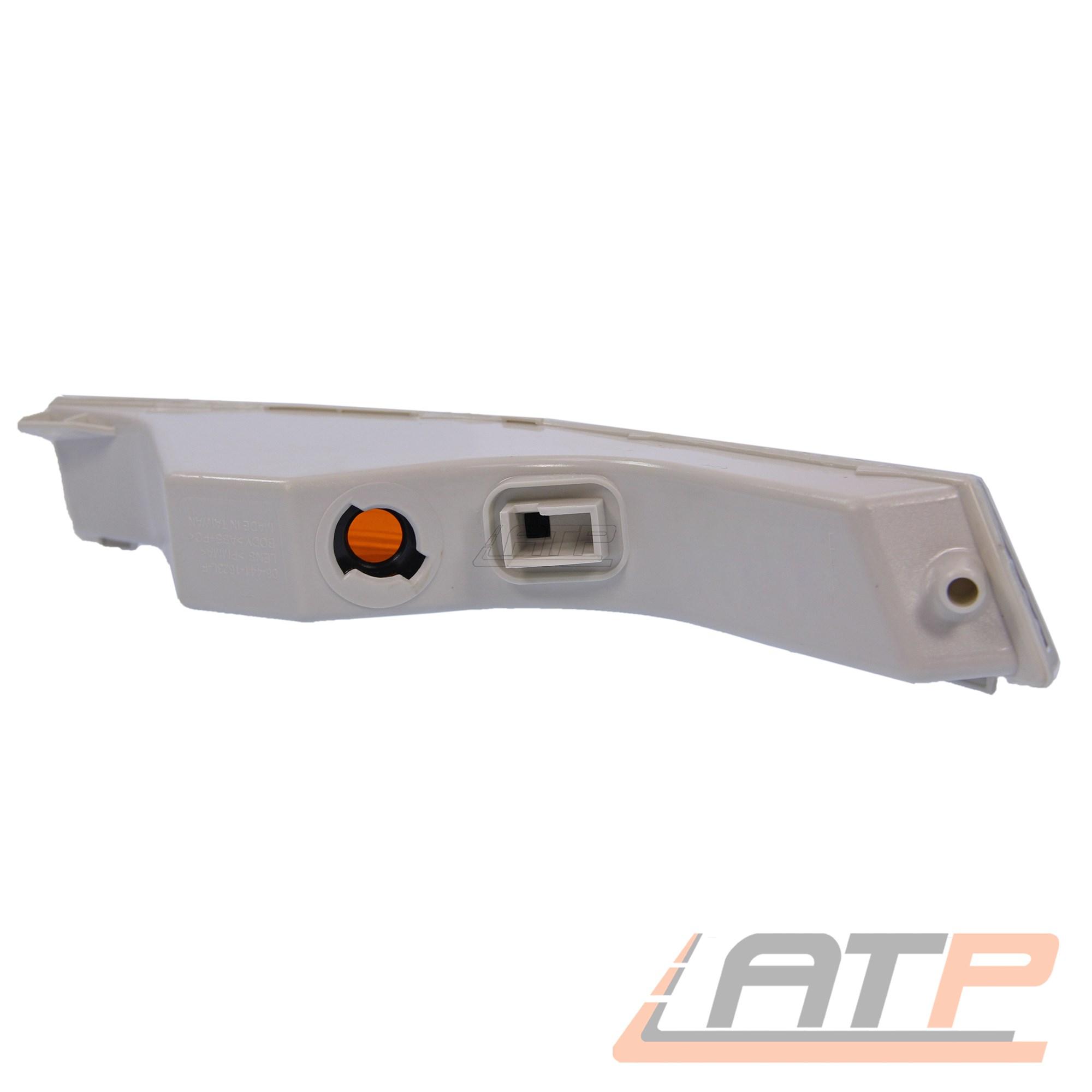 Luz parpadeante intermitente intermitentes lámpara intermitentes delanteros blancos delantera derecha 31727476