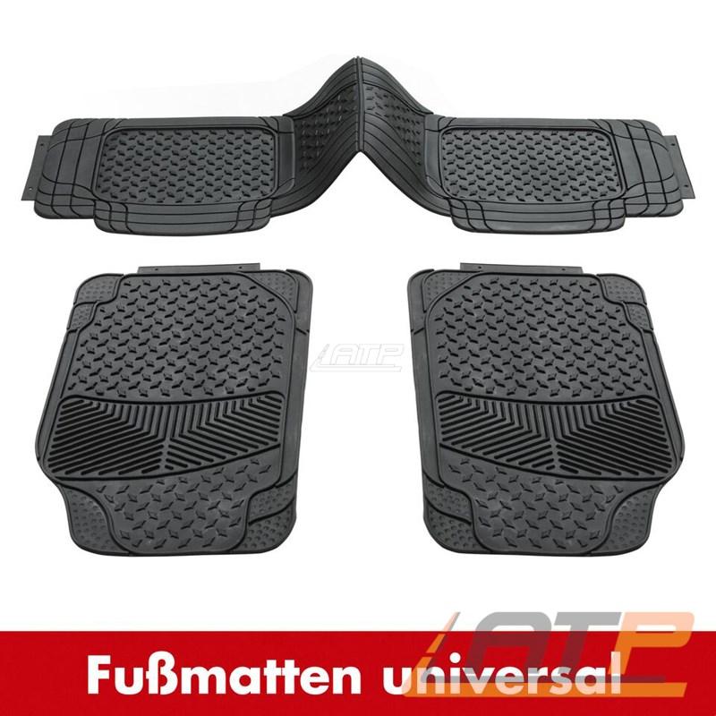 1x 4 tlg set dino gummi matte fussmatten universal schwarz zuschneidbar 130083 ebay. Black Bedroom Furniture Sets. Home Design Ideas