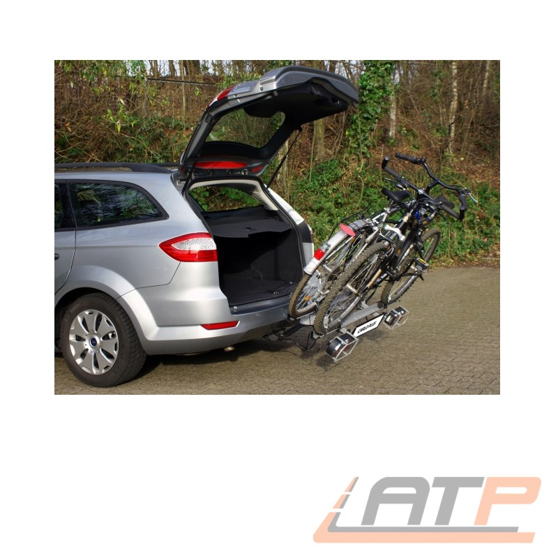 eufab fahrradtr ger hecktr ger carlo plus f r anh ngerkupplung ahk f r 2 r der ebay. Black Bedroom Furniture Sets. Home Design Ideas