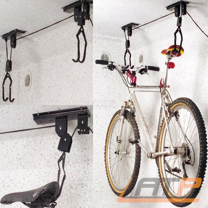 fahrrad aufhangen seilzug lift bike decke halter garage rad aufhangung