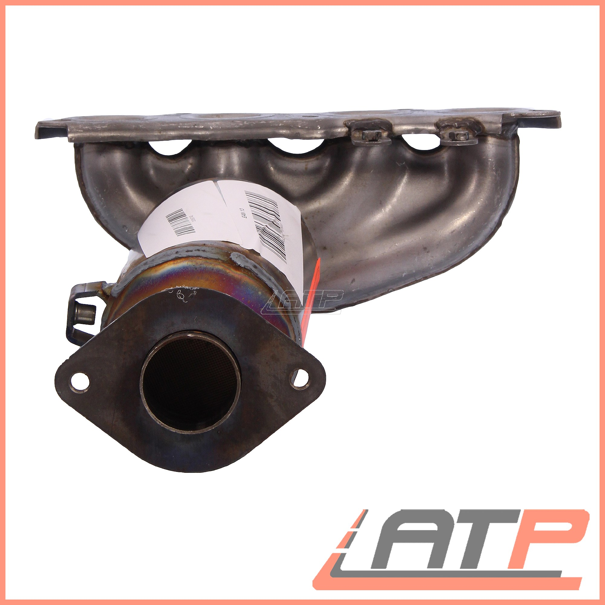 For Toyota Yaris 1.0 16V Scp10 68bhp Hbk W//Obd 01-03 Centre Exhaust Silencer Box