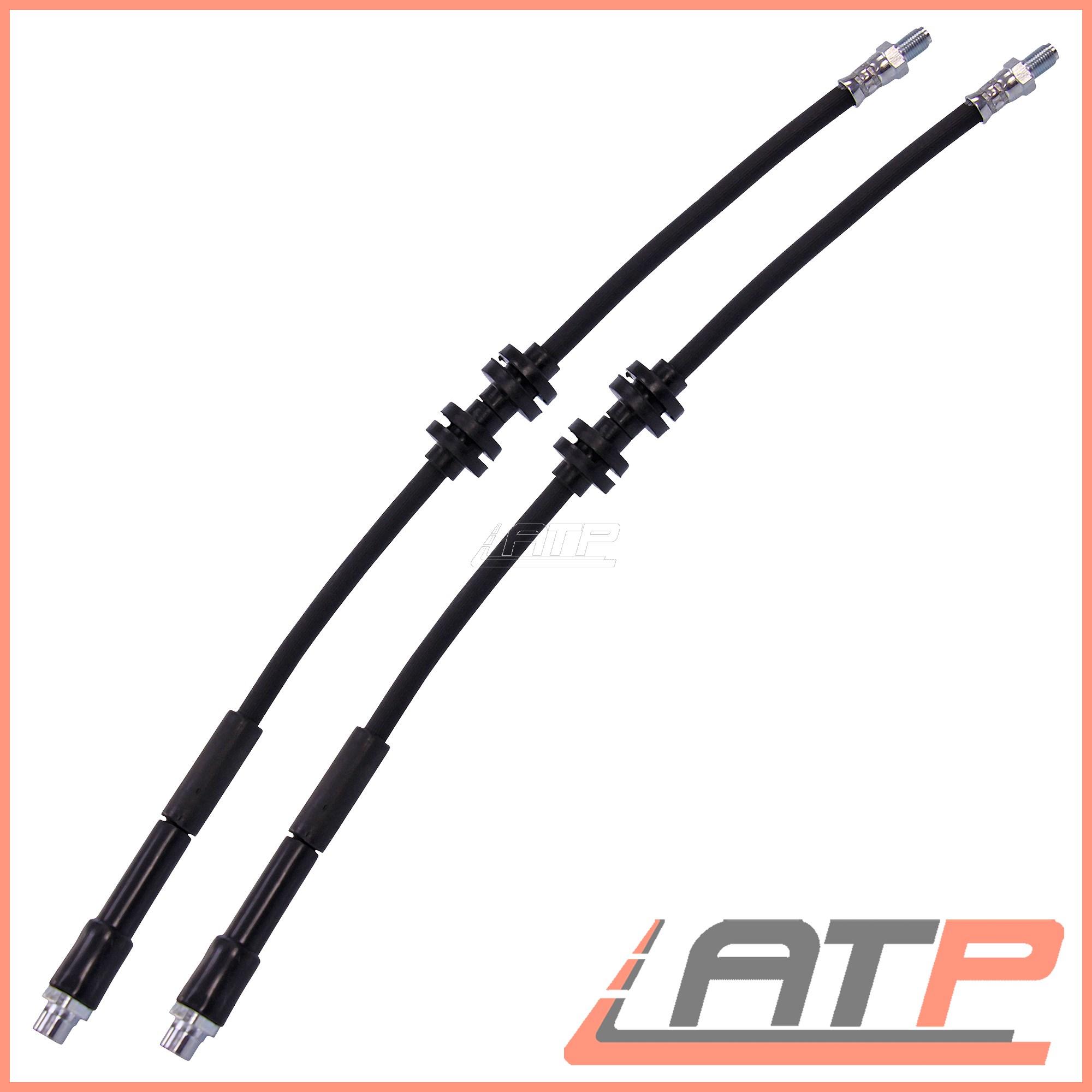 2x BRAKE LINE PIPE FRONT BMW 1 SERIES E81 E87 116-130 3 SERIES E90 E91 318-335
