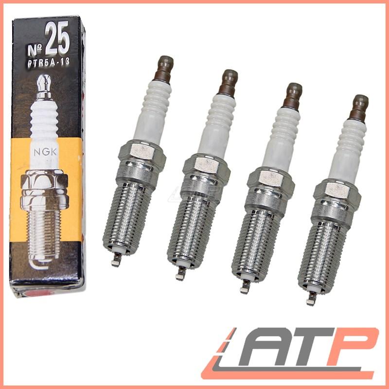 4x renault laguna MK2 1.6 16V genuine ngk yellow box spark plugs