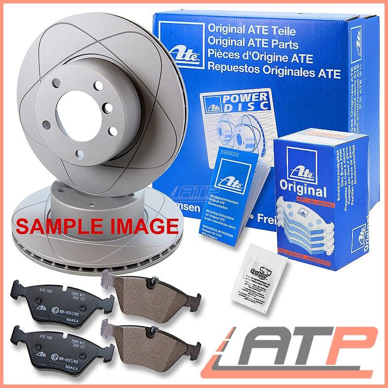 4x BRAKE DISC REAR AUDI A4 B6 8E 00-04 SET PADS FRONT
