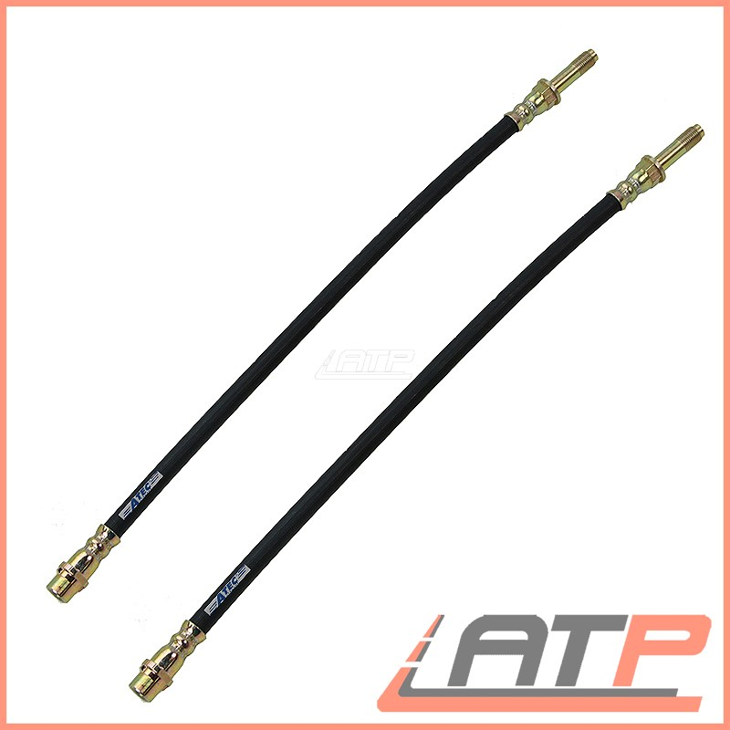2x BRAKE LINE PIPE REAR FRONT MERCEDES BENZ SPRINTER 4-T 408-416