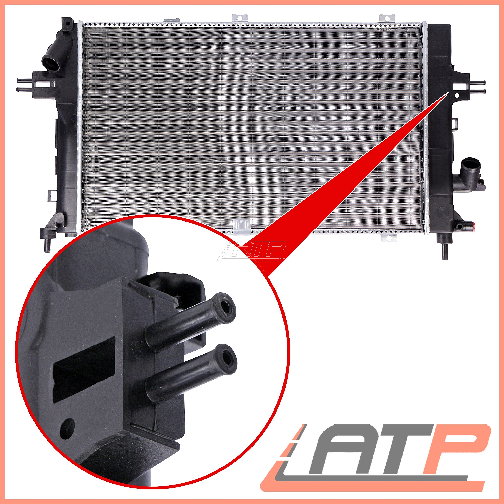 engine cooling radiator vauxhall astra h gtc 2 0 turbo 1 3 cdti 1 9 cdti 16v ebay. Black Bedroom Furniture Sets. Home Design Ideas