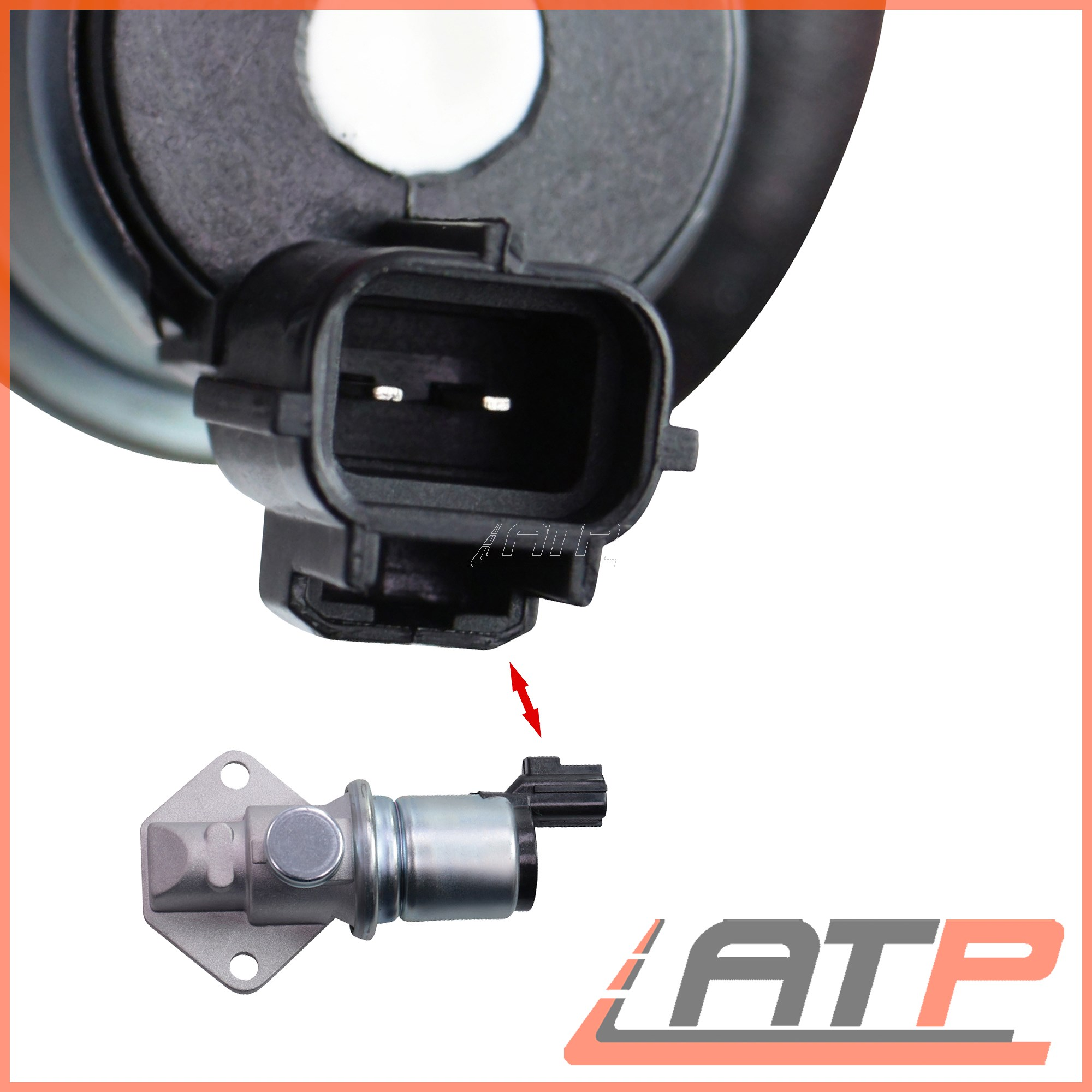 IDLE AIR SPEED CONTROL VALVE FORD TRANSIT CONNECT 1.8 16V 2002