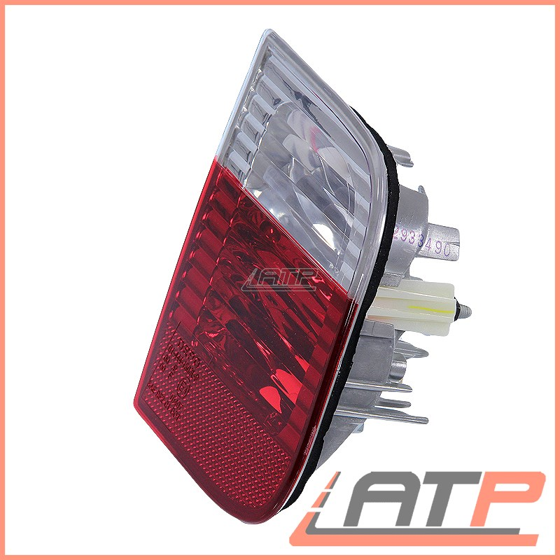 2X REAR TAIL LAMP LIGHT RED//WHITE INNER LEFT+RIGHT BMW 3 SERIES E46 01-05
