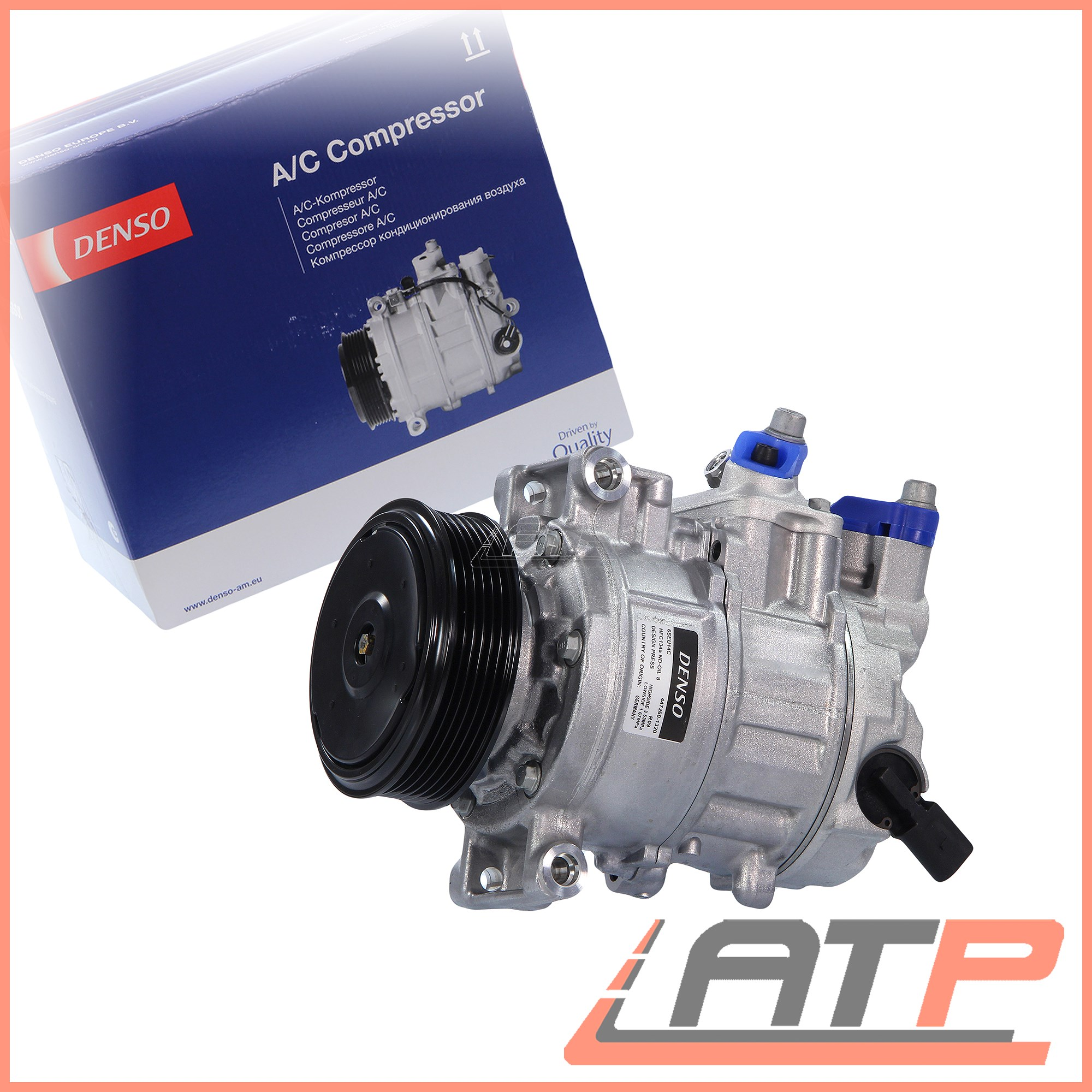 DENSO AC AIR Con Conditioning Compressor Dcp02041 Seat Exeo 3R