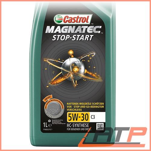 10x 1 l litre castrol magnatec stop start 5w 30 c3 engine. Black Bedroom Furniture Sets. Home Design Ideas