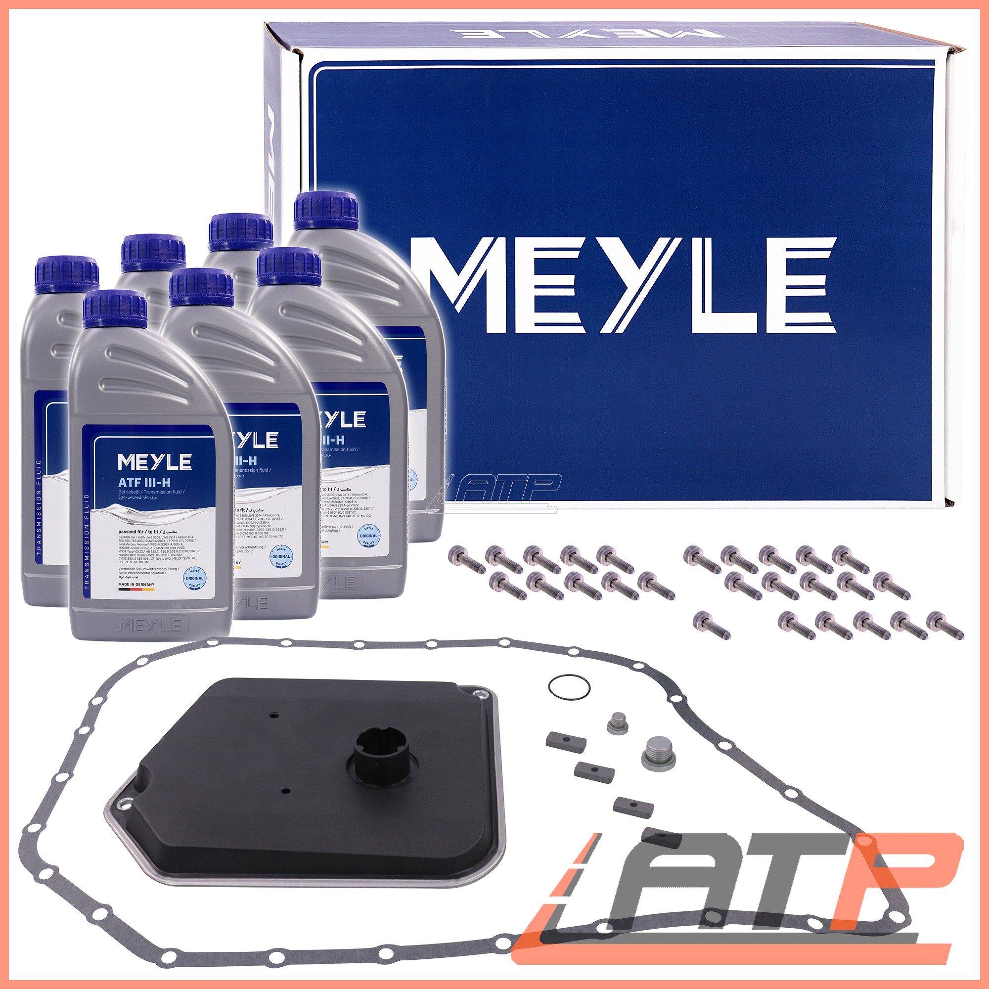 1x Meyle Oil Change Kit Automatic Transmission Audi A6 4b C5 98 05