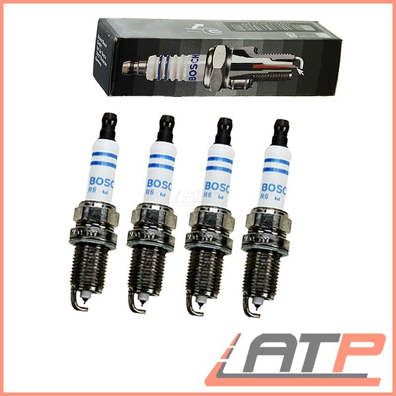 4x Fits Honda Civic MK1 1300 L Genuine Bosch Super 4 Spark Plugs