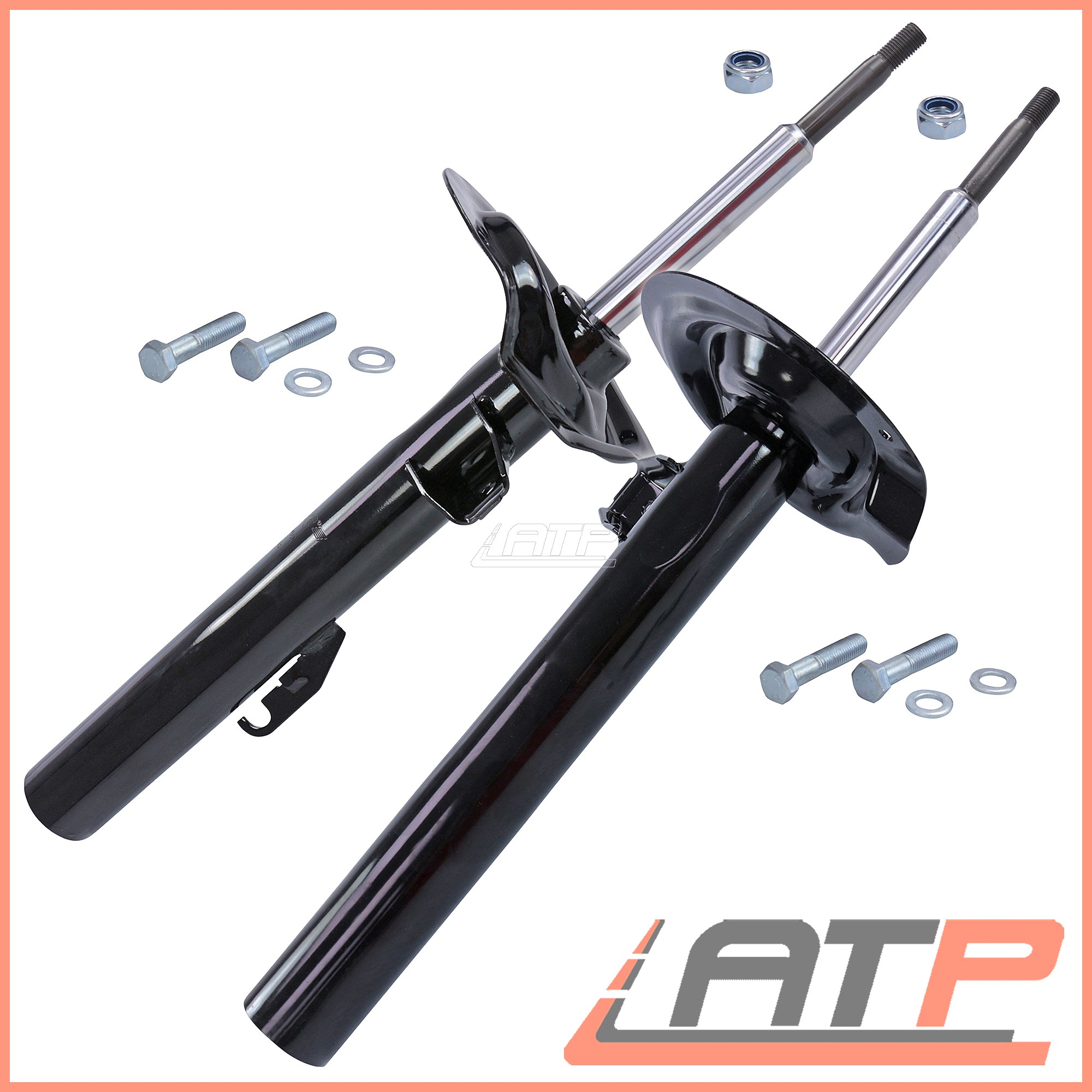 Shock Absorbers/Dampers 2 x SHOCK PROTECTION KIT BMW 7 SERIES E38 94-01 FRONT Suspension & Steering