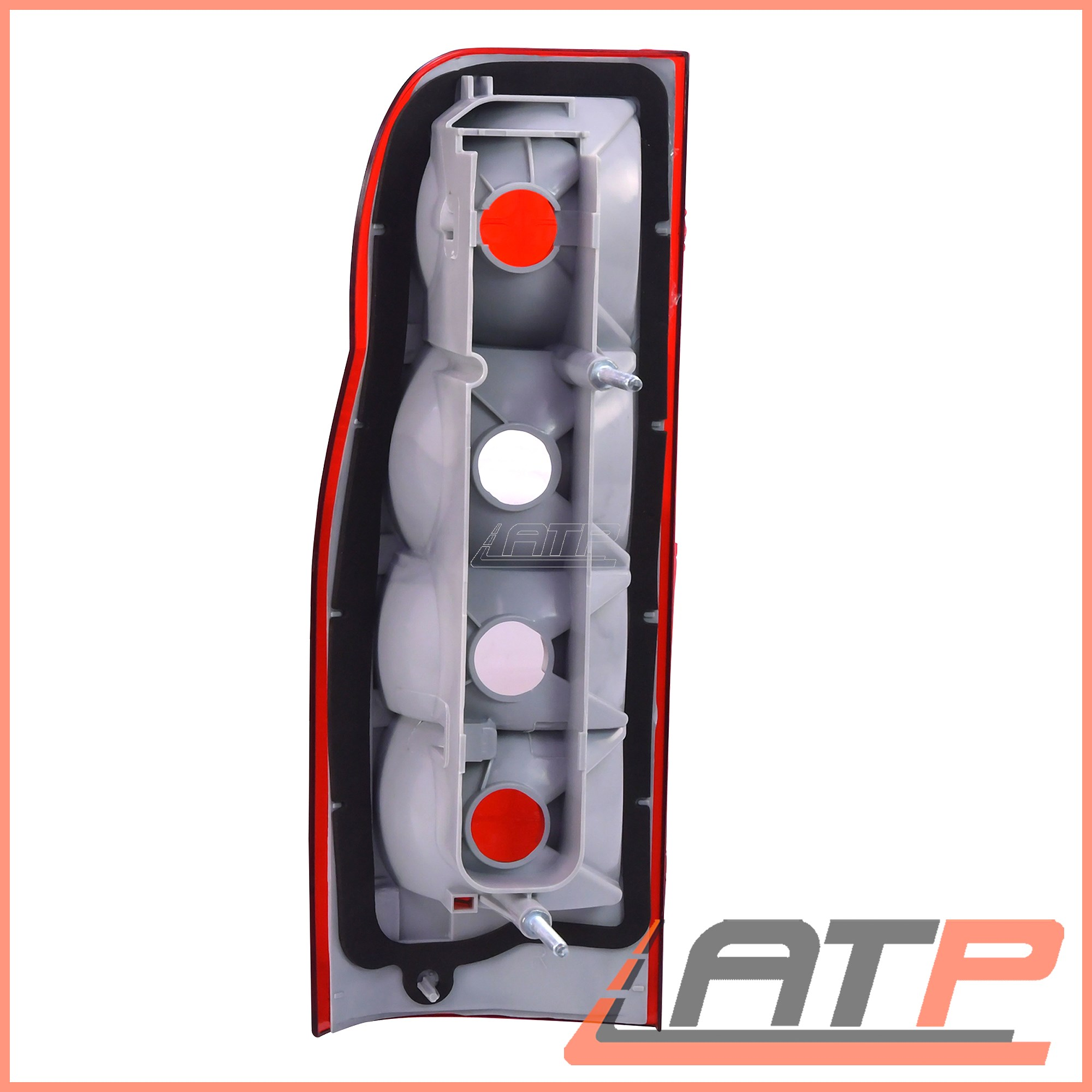 2X REAR TAIL LAMP LIGHT LEFT+RIGHT FORD TRANSIT 2.2-3.2 06-14