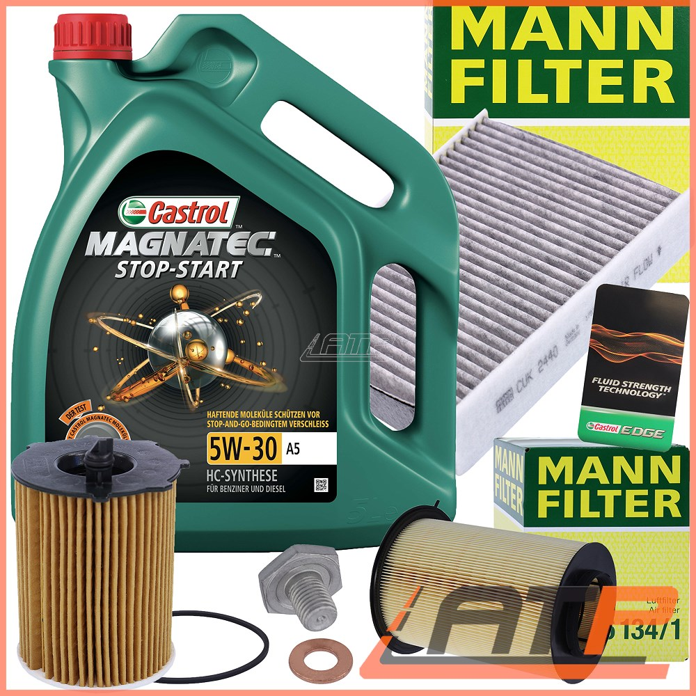 Volvo C30 1.6 D2 Genuine MANN Engine Oil Filter Service Replacement