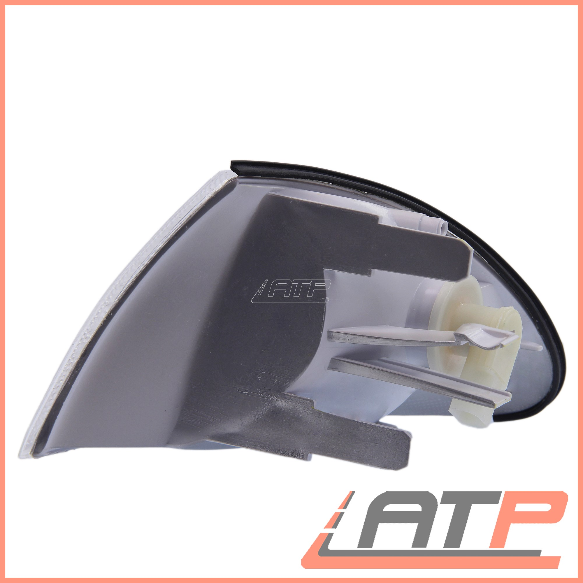 1x-INDICATOR-FRONT-RIGHT-WHITE-LENS-BMW-3-SERIES-E46 thumbnail 2