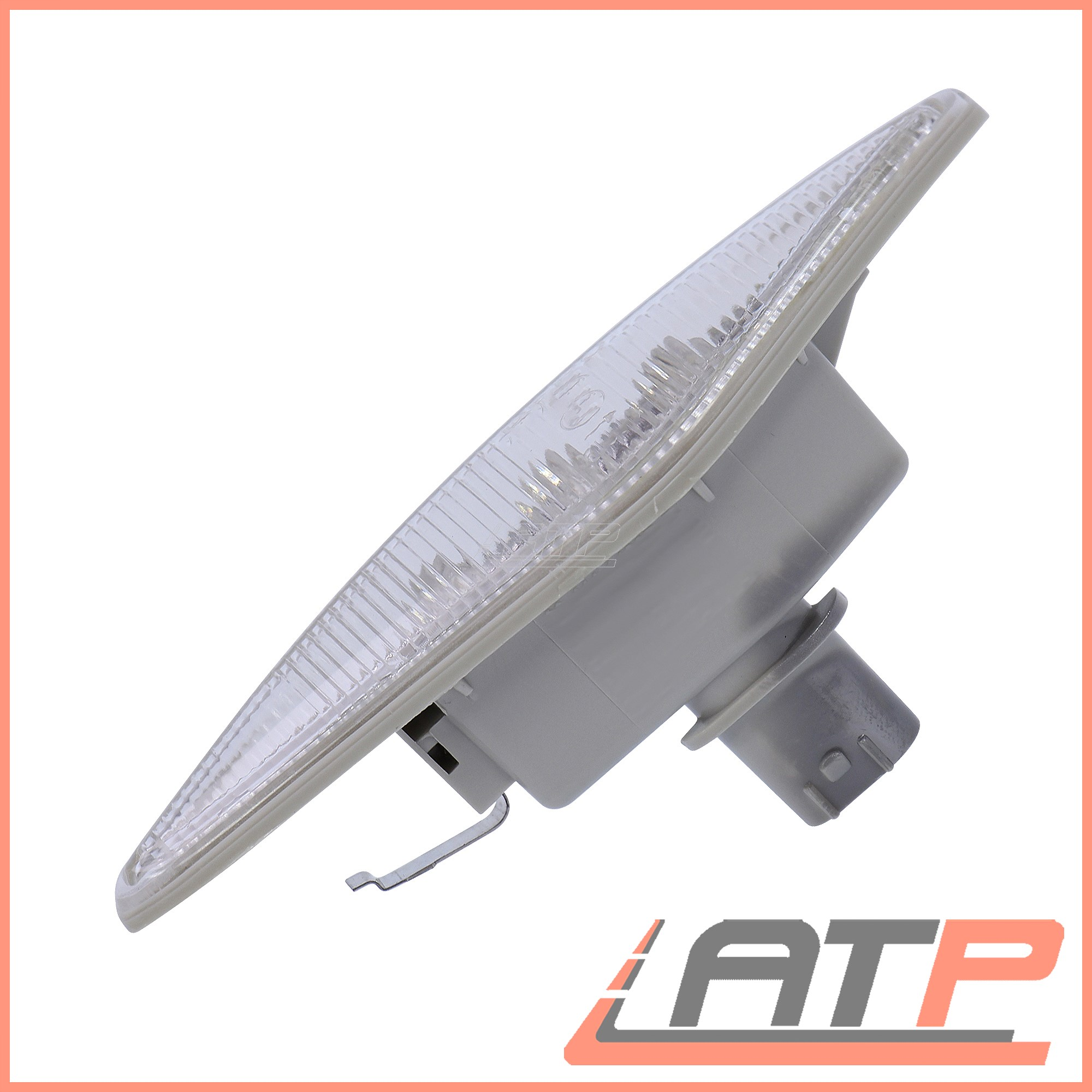 2X-LED-INDICATOR-TURN-SIGNAL-SIDE-REPEAT-LEFT-RIGHT-BMW-3-SERIES-E46 thumbnail 2