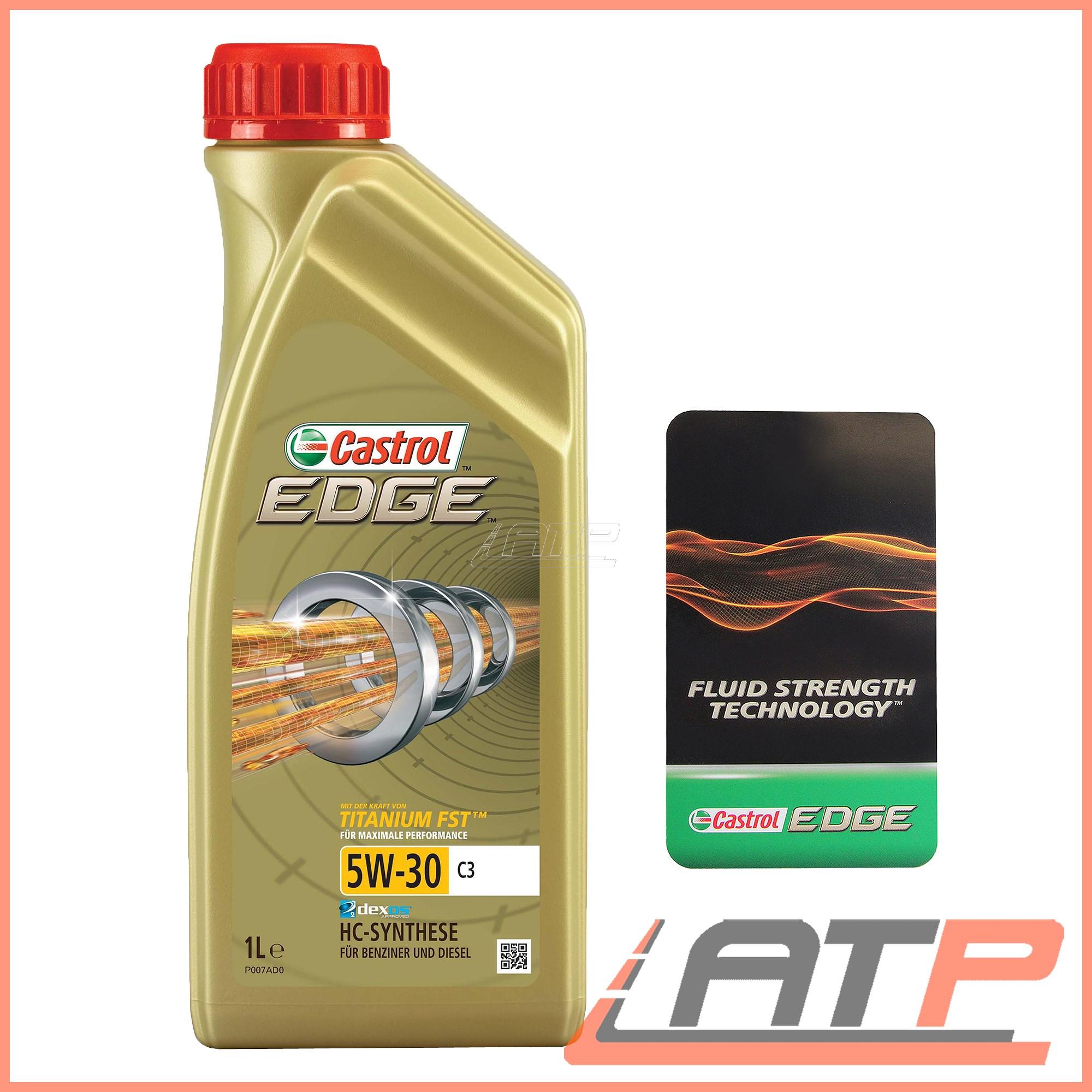 2cdf639fd15 1 L LITRE CASTROL EDGE TITANIUM FST™ 5W-30 C3 ENGINE OIL BMW ...