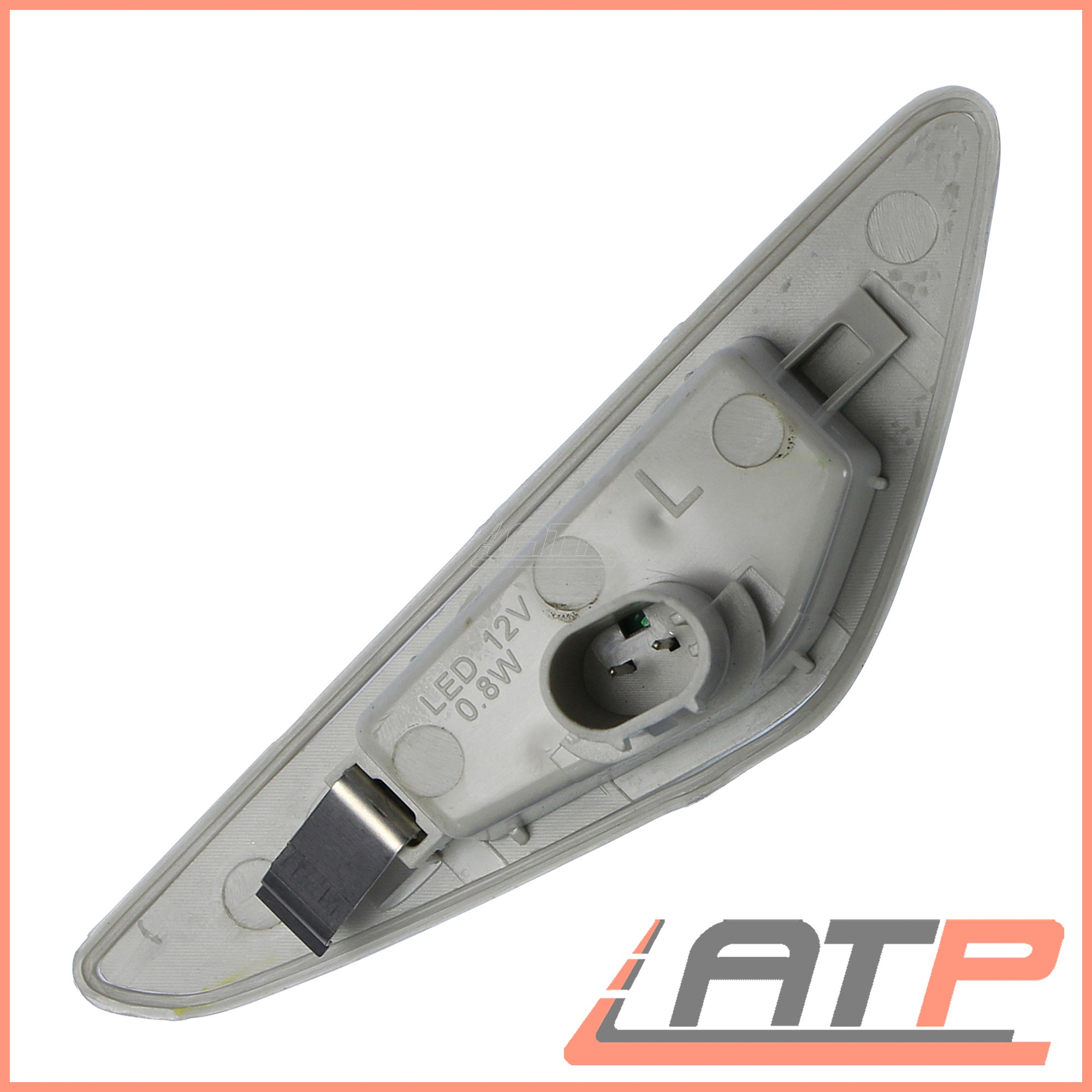 2X-LED-INDICATOR-TURN-SIGNAL-SIDE-REPEAT-LEFT-RIGHT-BMW-3-SERIES-E46 thumbnail 3