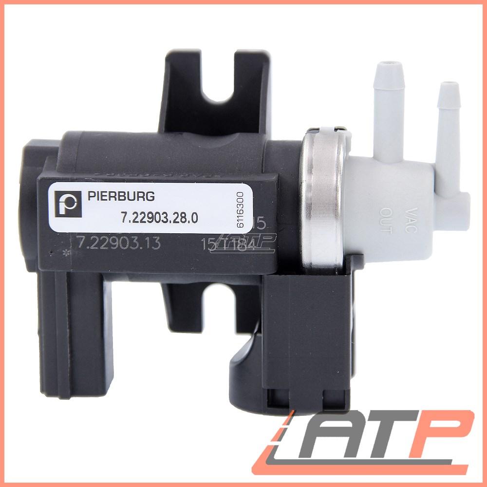 Exhaust Pressure Solenoid Valve for AUDI A6 4F 2.0 04-/>11 4F2 4F5 C6 Pierburg