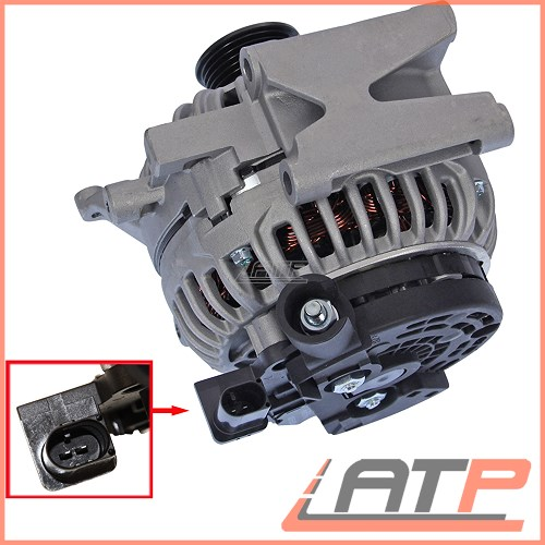 ALTERNATOR 200 A MERCEDES BENZ E-CLASS W211 S211 E 200
